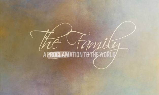 Free 'Family Proclamation' Wall Art, for the 20th Anniversary