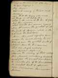 Pratt, notebook, penultimate leaf (verso)