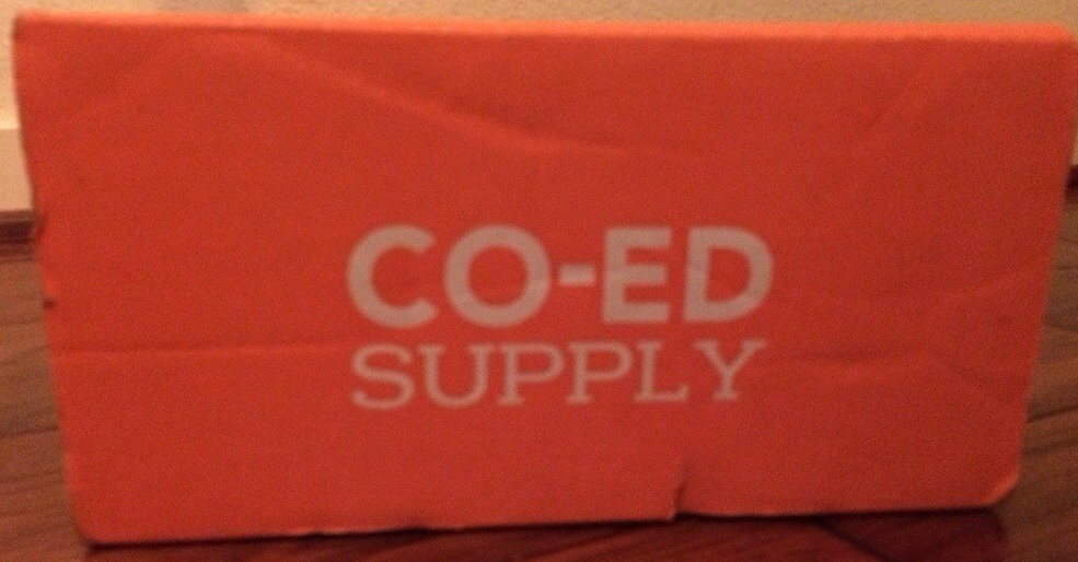 CO-ED SUPPLY BOX – APRIL 2014