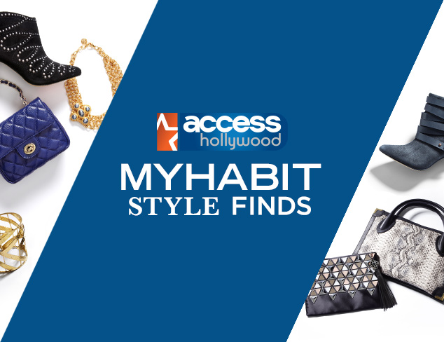 MYHABIT STYLE FINDS - ACCESS HOLLYWOOD DEALS 2/10/16