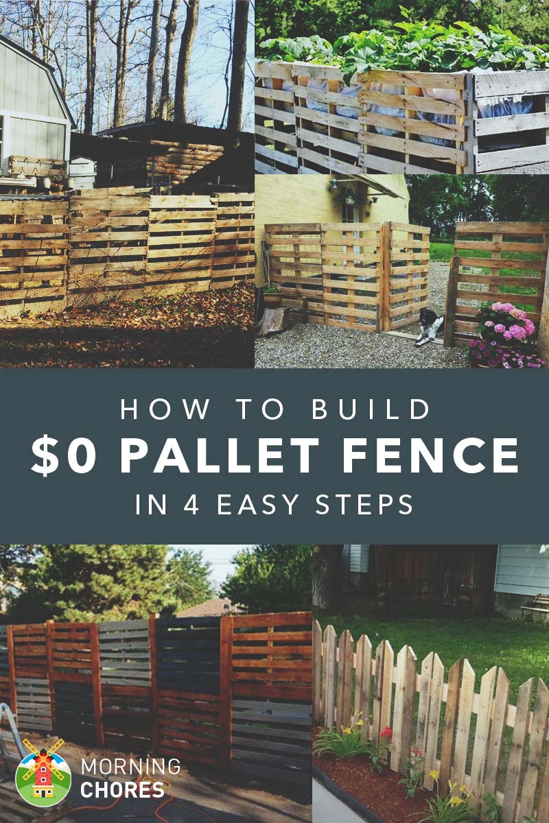 Diy Rolling Fence Gate How To Build A Pallet Fence For Almost And 6 Plans Ideas
