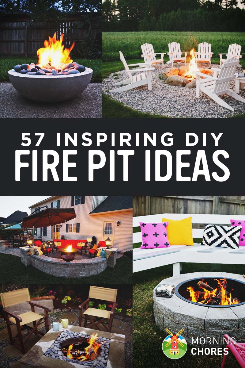 Patio Fire Pit Ideas 57 Inspiring Diy Outdoor Fire Pit Ideas To Make S Mores With Your