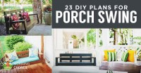 23 Free DIY Porch Swing Plans & Ideas to Chill in Your ...