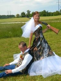 Bad Camo Wedding Photos