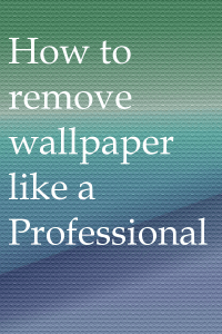 How to Remover Wallpaper Like a Pro - Kansas City Kitchen Cabinet Restyling and Refinishing.