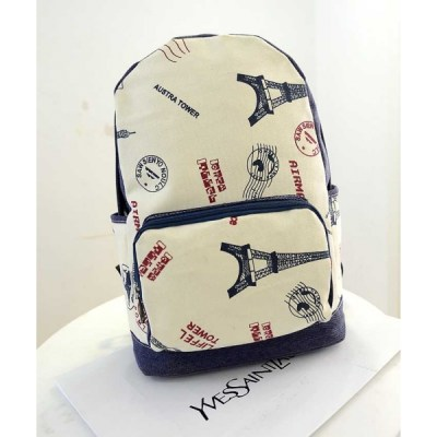 Tas Ransel Kanvas Bag Moro Fashion