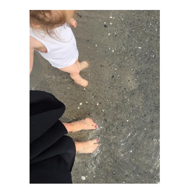 Morogmor blog - -stranden sommeren 2017