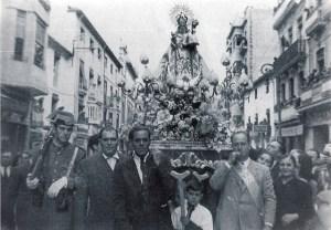 1950 - Virgen de la Cabeza en Jaen