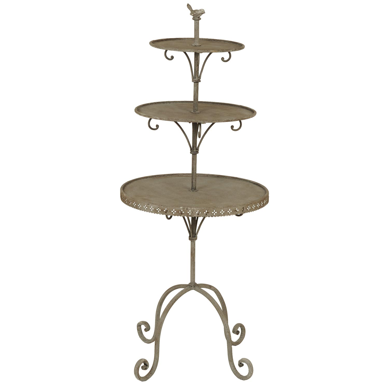 Etagere Englisch Clayre Eef 40605 Etagere Holz Metall 125cm