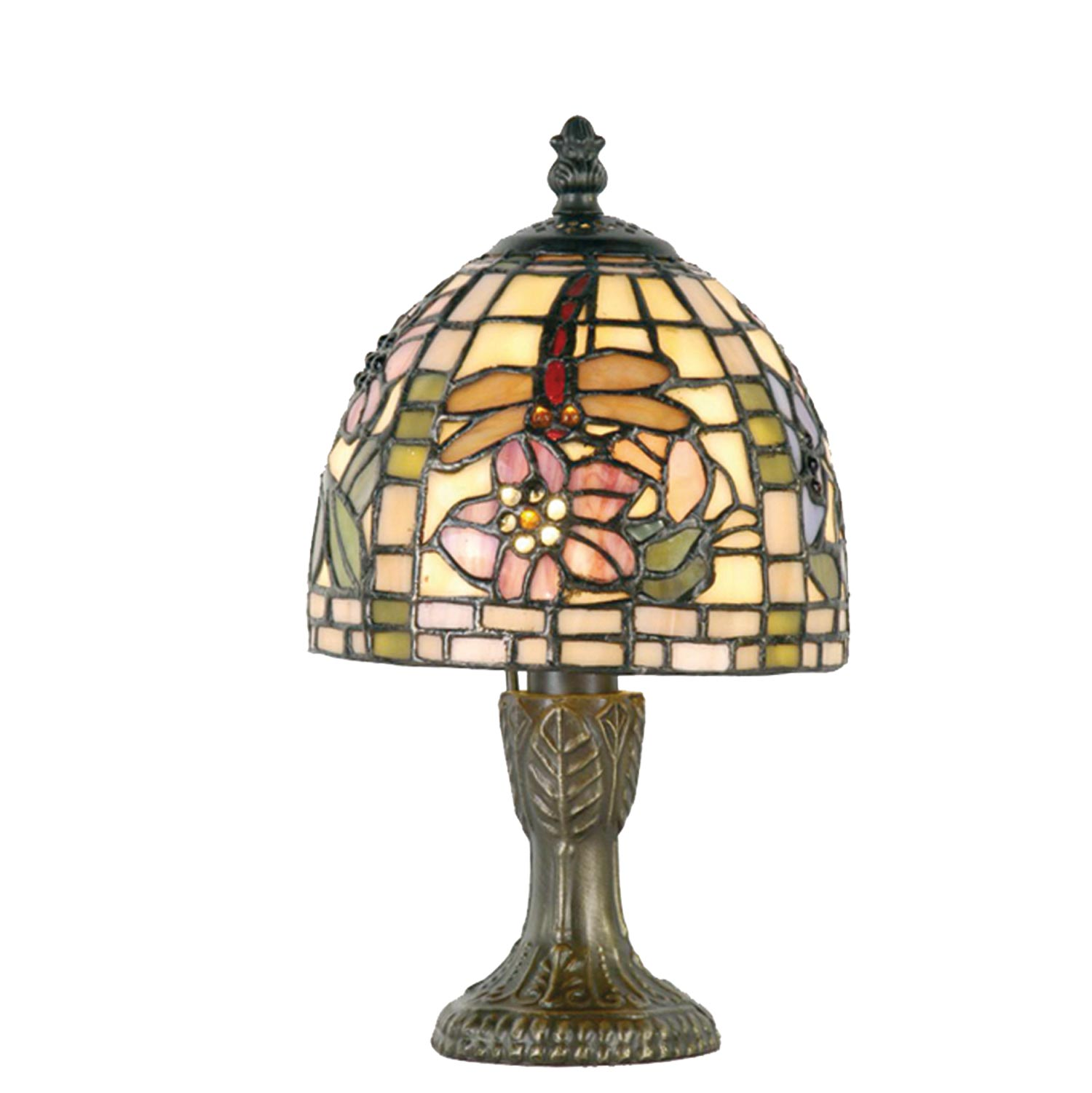 Tiffany Lampen Tischleuchte Clayre And Eef 5ll 9043 Tiffany Tischlampe Quotcherryblossom Quot