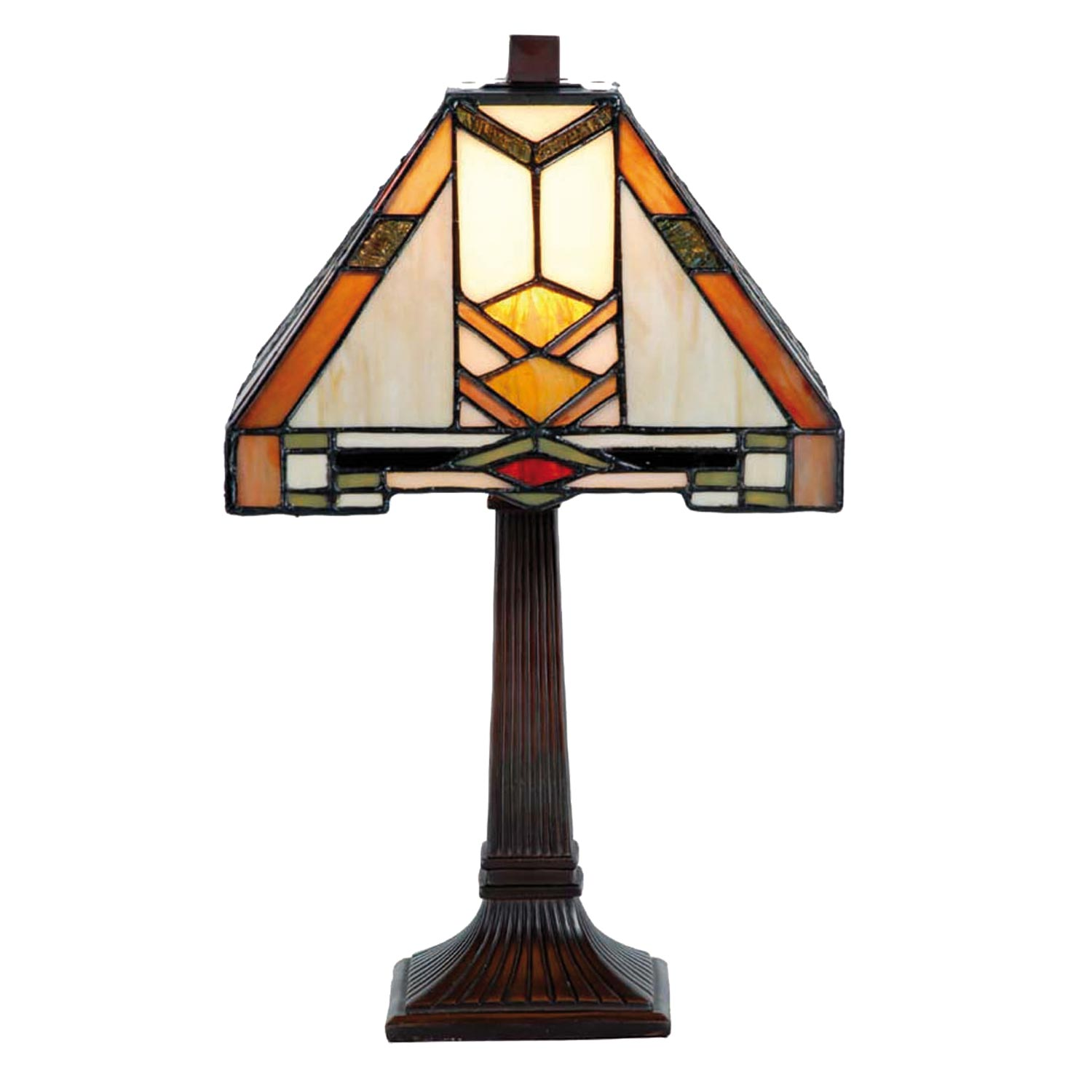 Tiffany Lampen Tischleuchte Clayre And Eef 5ll 9928 Tiffany Tischlampe Quotaztec Style Quot