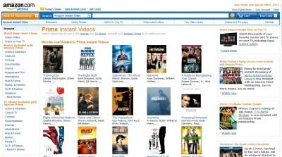 Amazon Prime Amazon prime's streaming