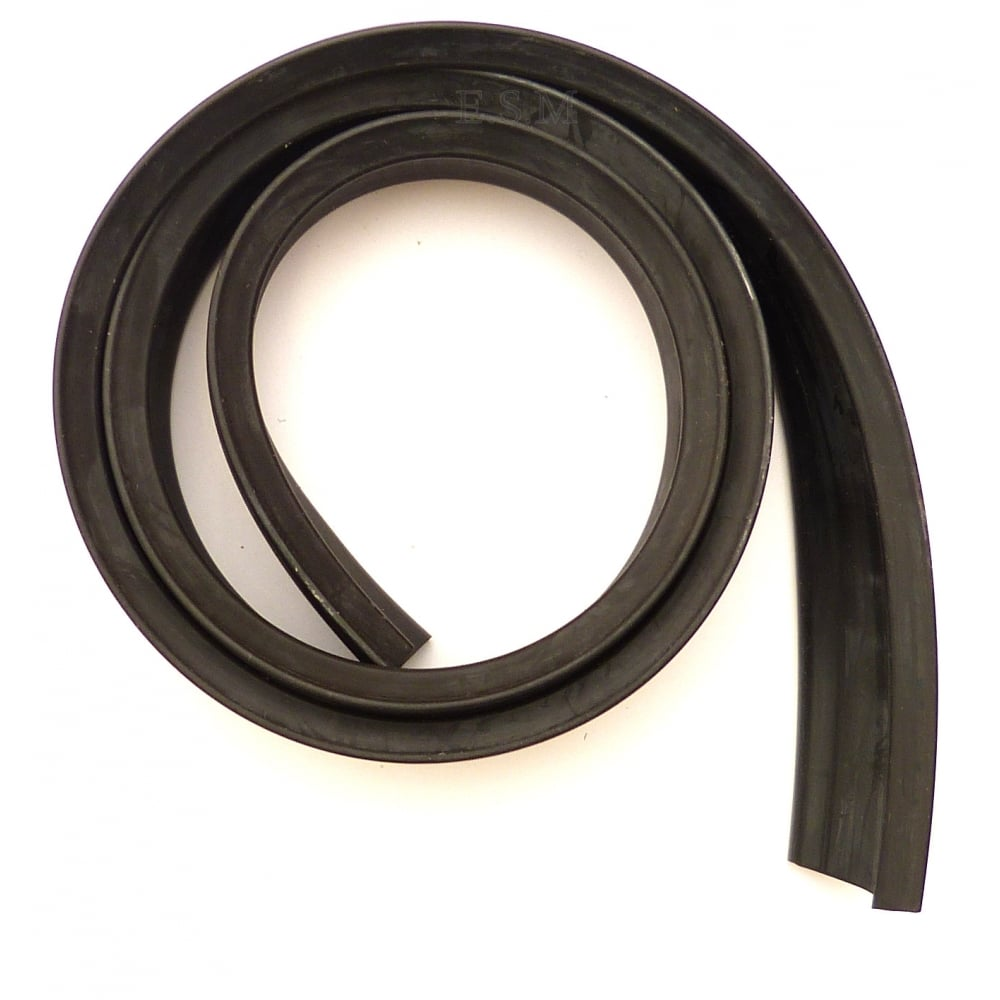 Rubber Seal Strip Rubber Seal Strip Fits Into Channel On Bottom Of Door