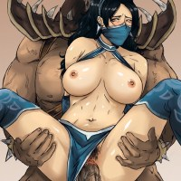 As long as Kitana is adopted daughter Shao Kahn has no problems with fucking her