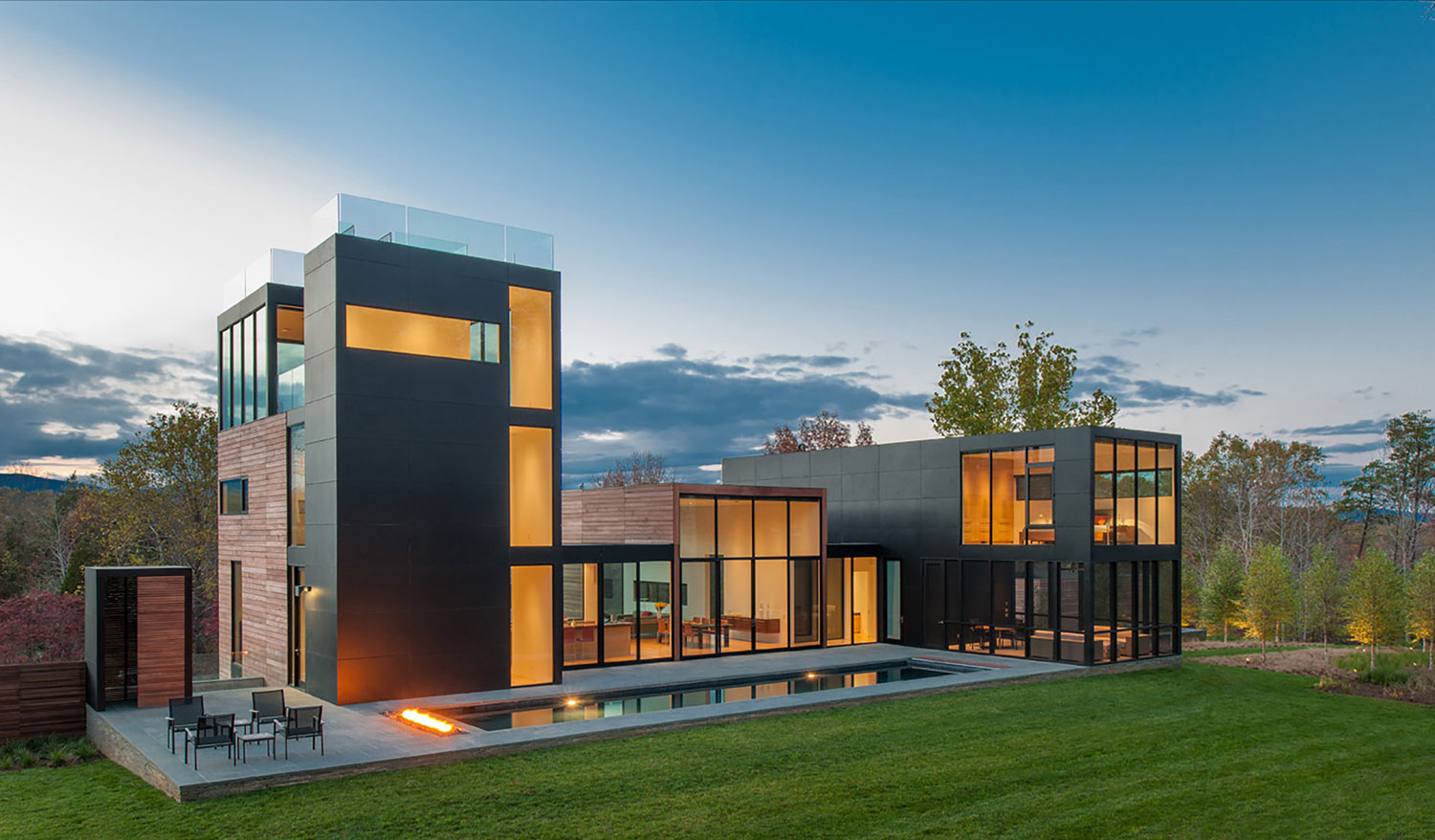 Usa House Design Amazing Modern House In Rappahannock County Virginia Usa