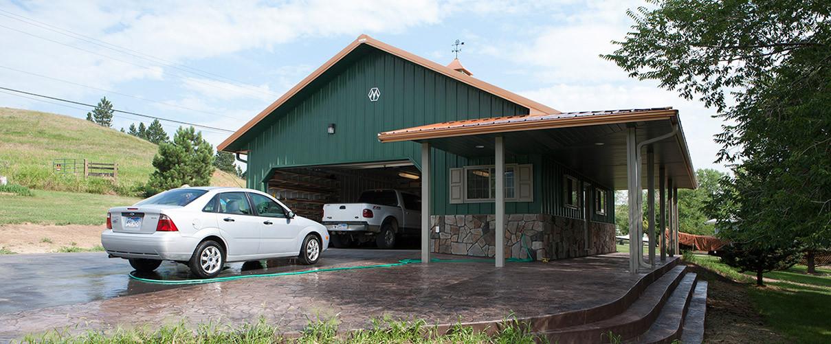 Garage Morton Buildings