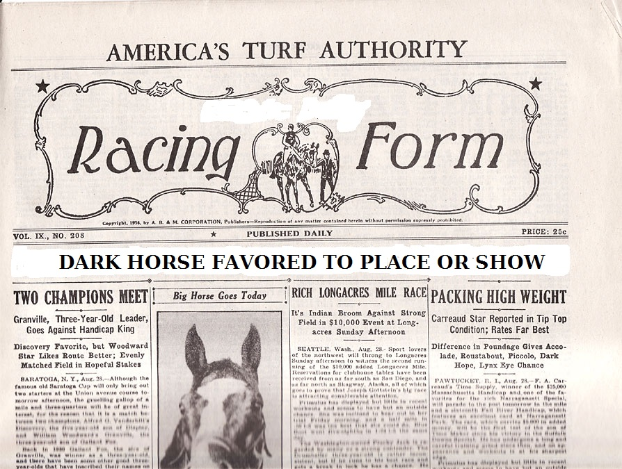 Horse racing daily racing form v--vtop 2018 - racing form
