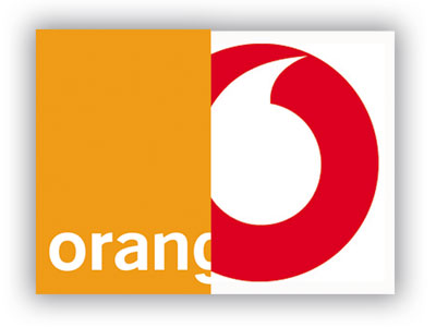 Orange-Vodafone-logos