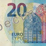 bancnota 20 euro 2