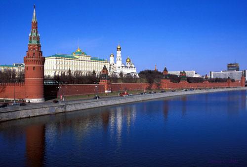 Московский Кремль - главная достопримечательность Москвы