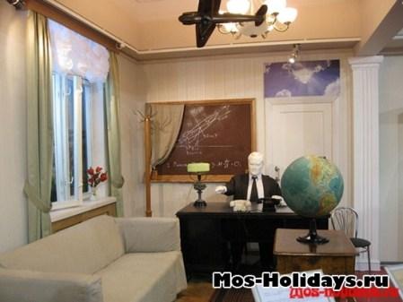 Экспозиция кабинета С.П. Королёва