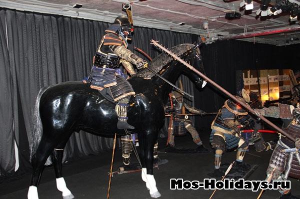 Выставка самураев в Москве