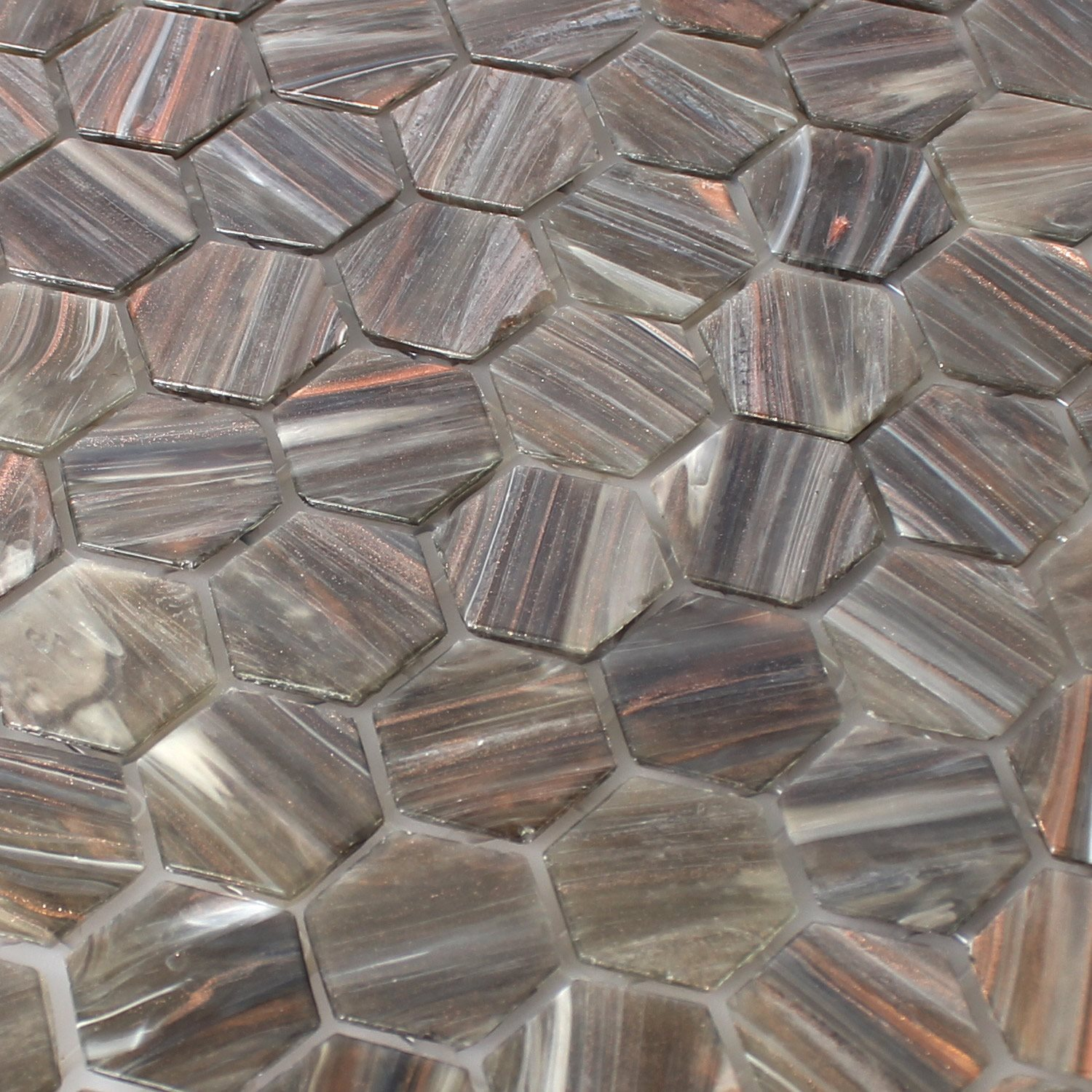 Trend Mosaik Glass Mosaic Tiles Hexagonal Trend Vi Ti22464