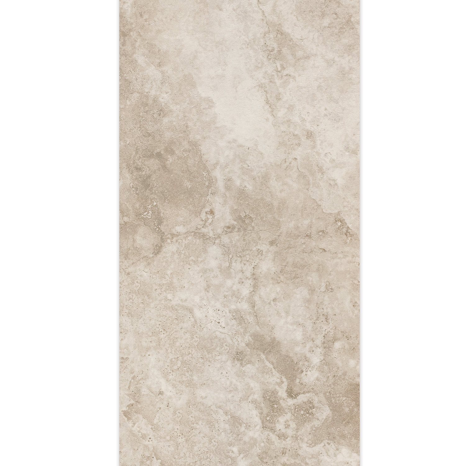 Carrelage Sol Travertine Gris 45x90cm