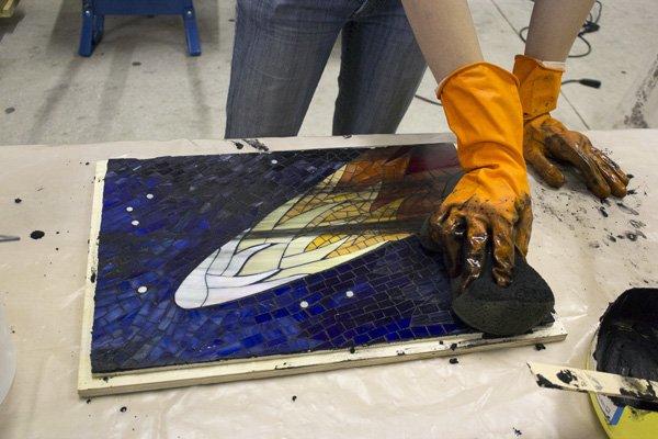Illustrated Mosaic Instructions Mosaic Art Supply