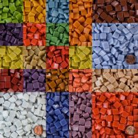 Morjo  12mm Recycled Glass Mosaic Tile