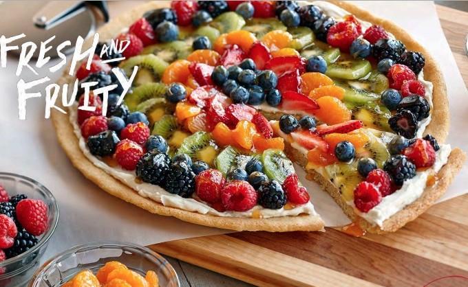 Paleo Summer Olive Pizza
