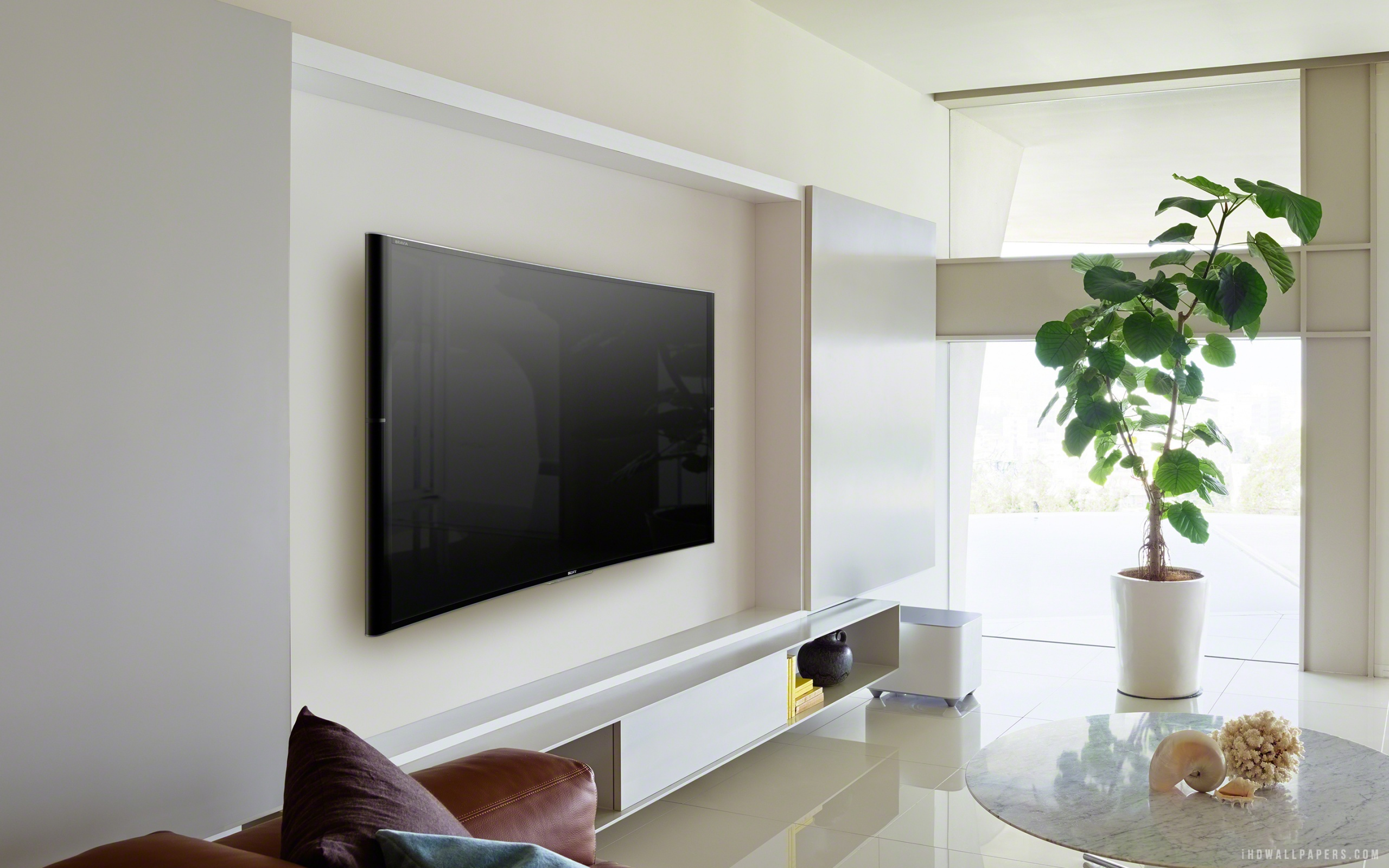 Tv On The Wall Ideas What Is The Best Mount To Use For Your Flat Panel Tv