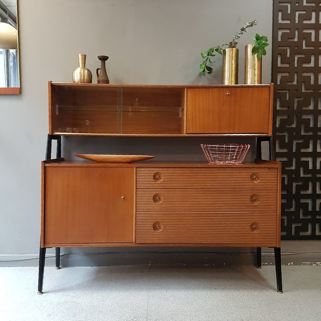 Vintage Nathan Sideboard Mid Century Sideboard By Nathan