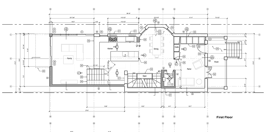 The Process of Design Construction Documents Moss Architecture