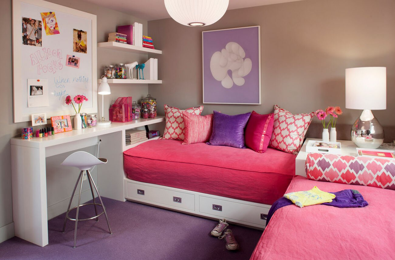 Teen Room Ideas For Girls 19 Great Girls Room Decor Ideas With Photos