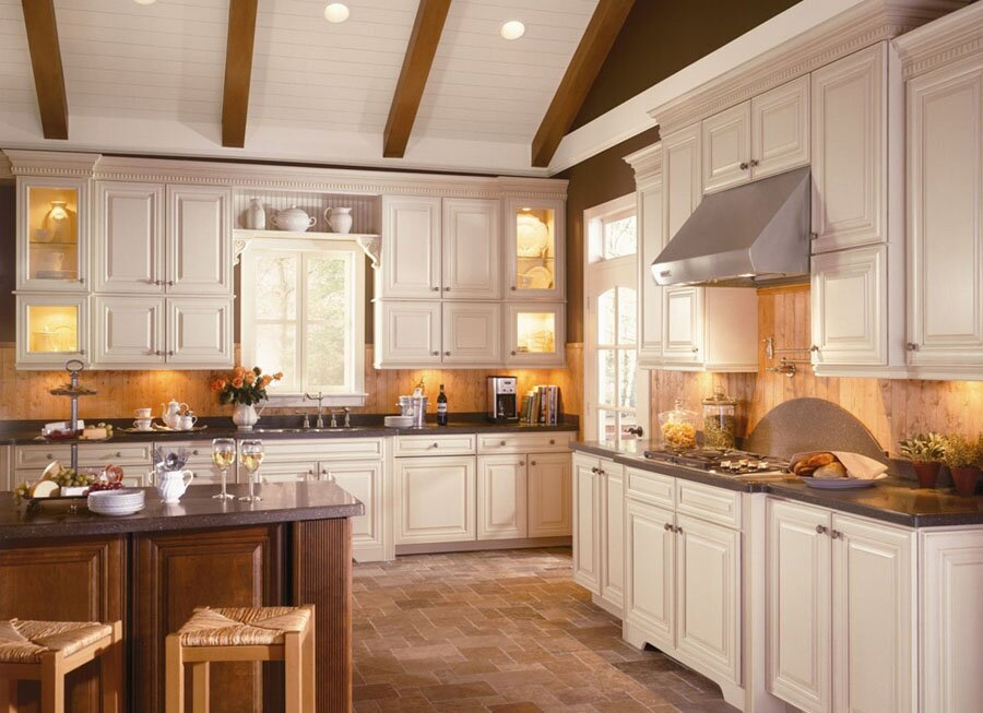 kitchen decor examples love mostbeautifulthings small eat kitchen design photos colored appliances