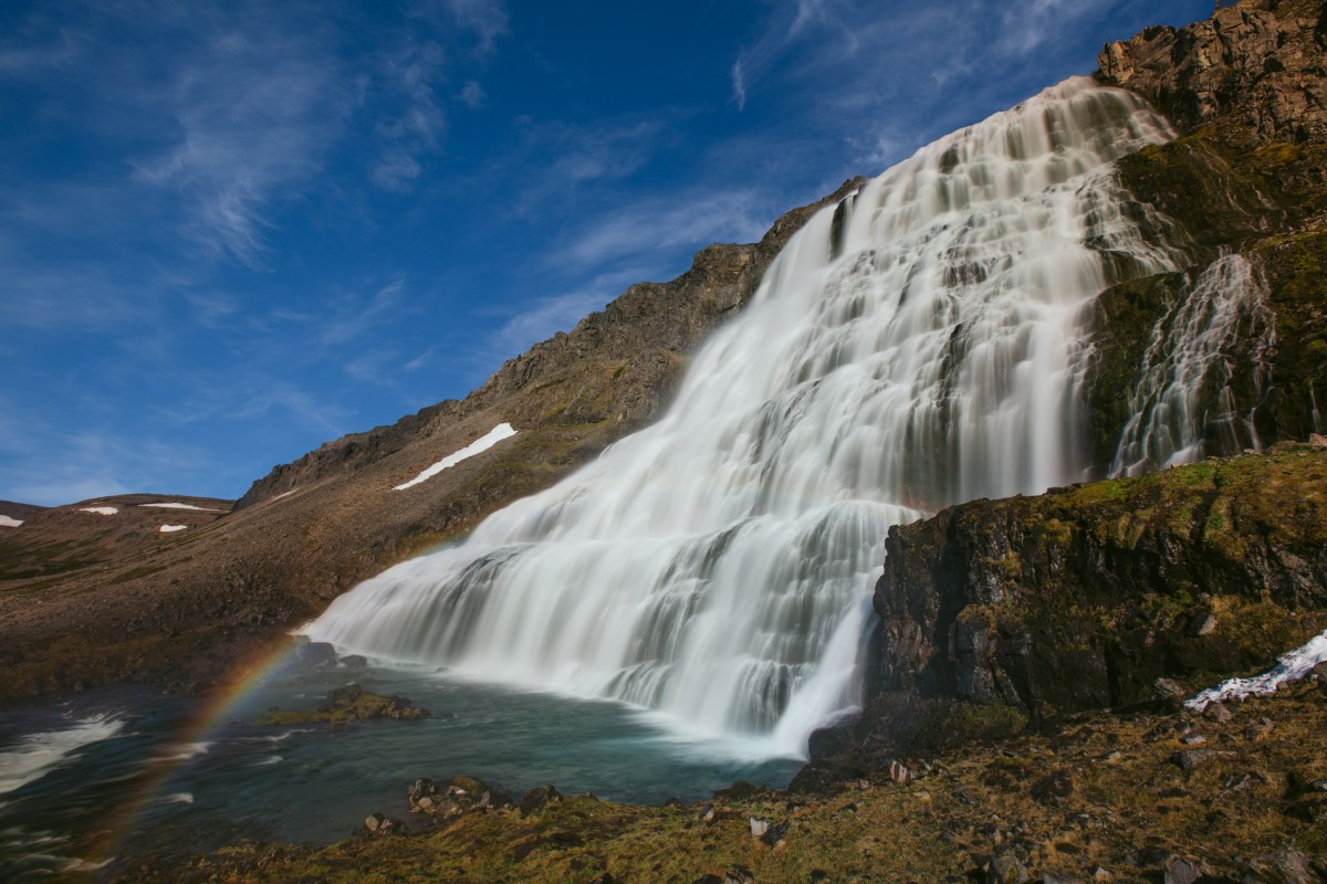 Behind the Scenes: Dynjandi Waterfall, West Fjords