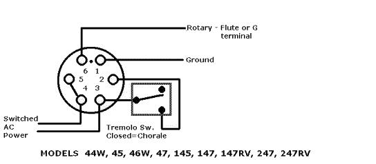 hammond speaker ground wire diagram