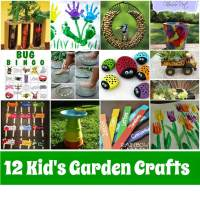 Kid's Garden Crafts Roundup - mother2motherblog