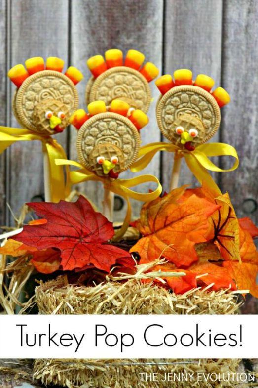 Thanksgiving cookies,