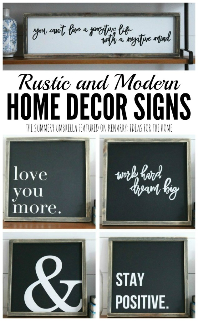 chalkboard signs, rustic signs, home decorating