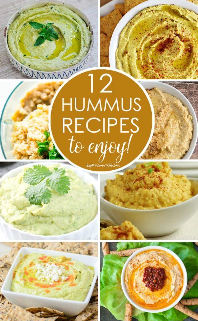 appetizer recipes, hummus recipes