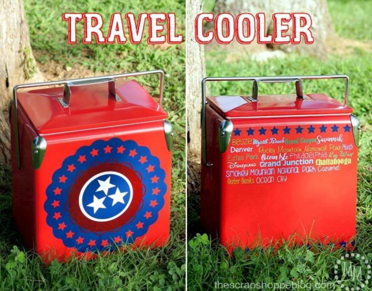 DIY ideas, summer coolers, upcycle ideas