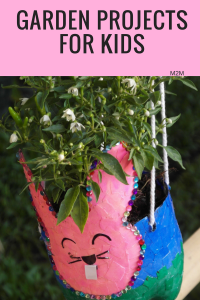 Fun Springtime Garden Projects for Kids - mother2motherblog