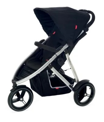 Phil And Teds Double Buggy Vibe Phil And Ted S Vibe V2 3 Wheeler Pushchair Black Silver