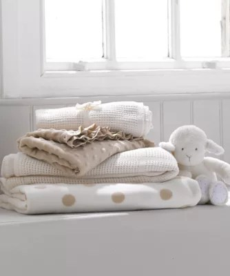 Cellular Cot Blankets Mothercare Cot Or Cot Bed Cellular Cotton Blanket Cream