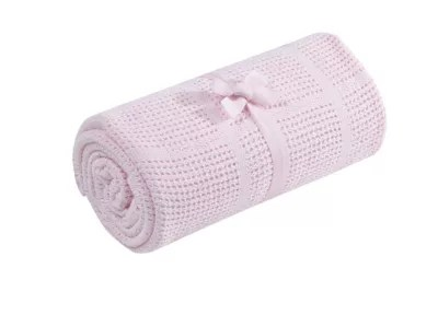 Cellular Cot Blankets Mothercare Cot Or Cot Bed Cellular Cotton Blanket Pink
