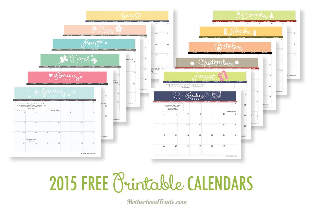 free printable calendar - free printable calendar