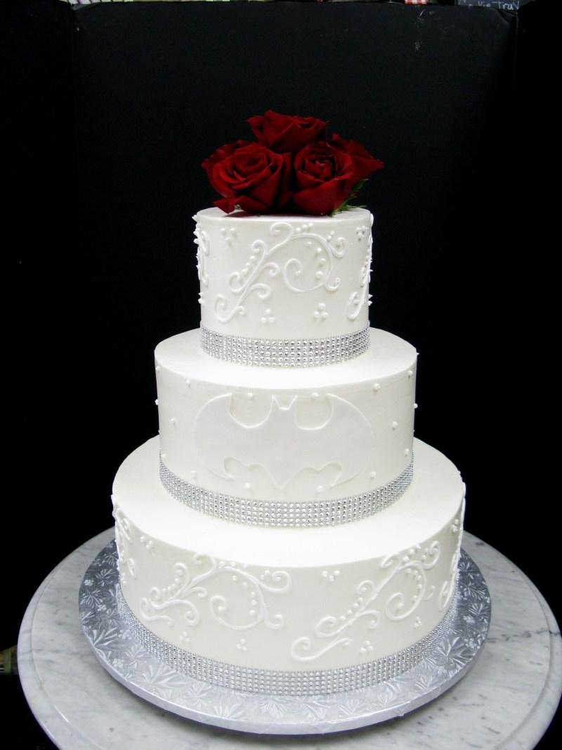 Large Of Batman Wedding Cake