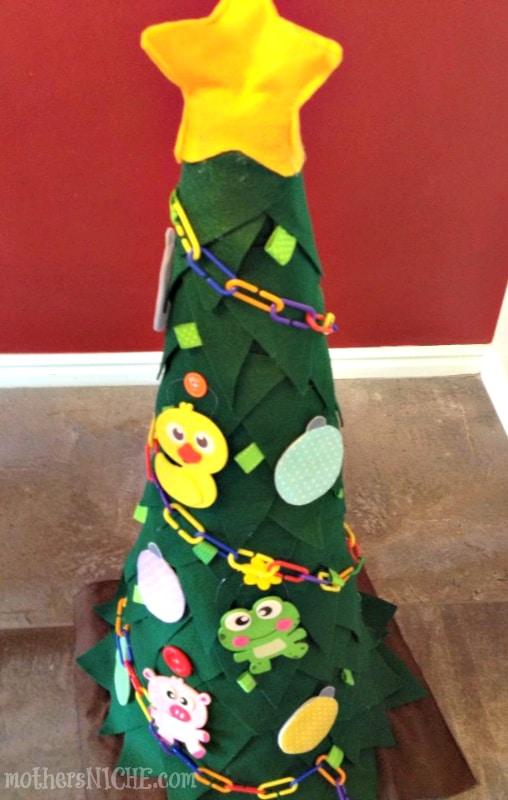 toddler Christmas Tree tutorial